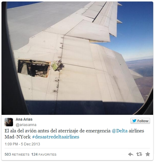 Delta 767 Suffers Partial Hydraulics Failure, Returns To